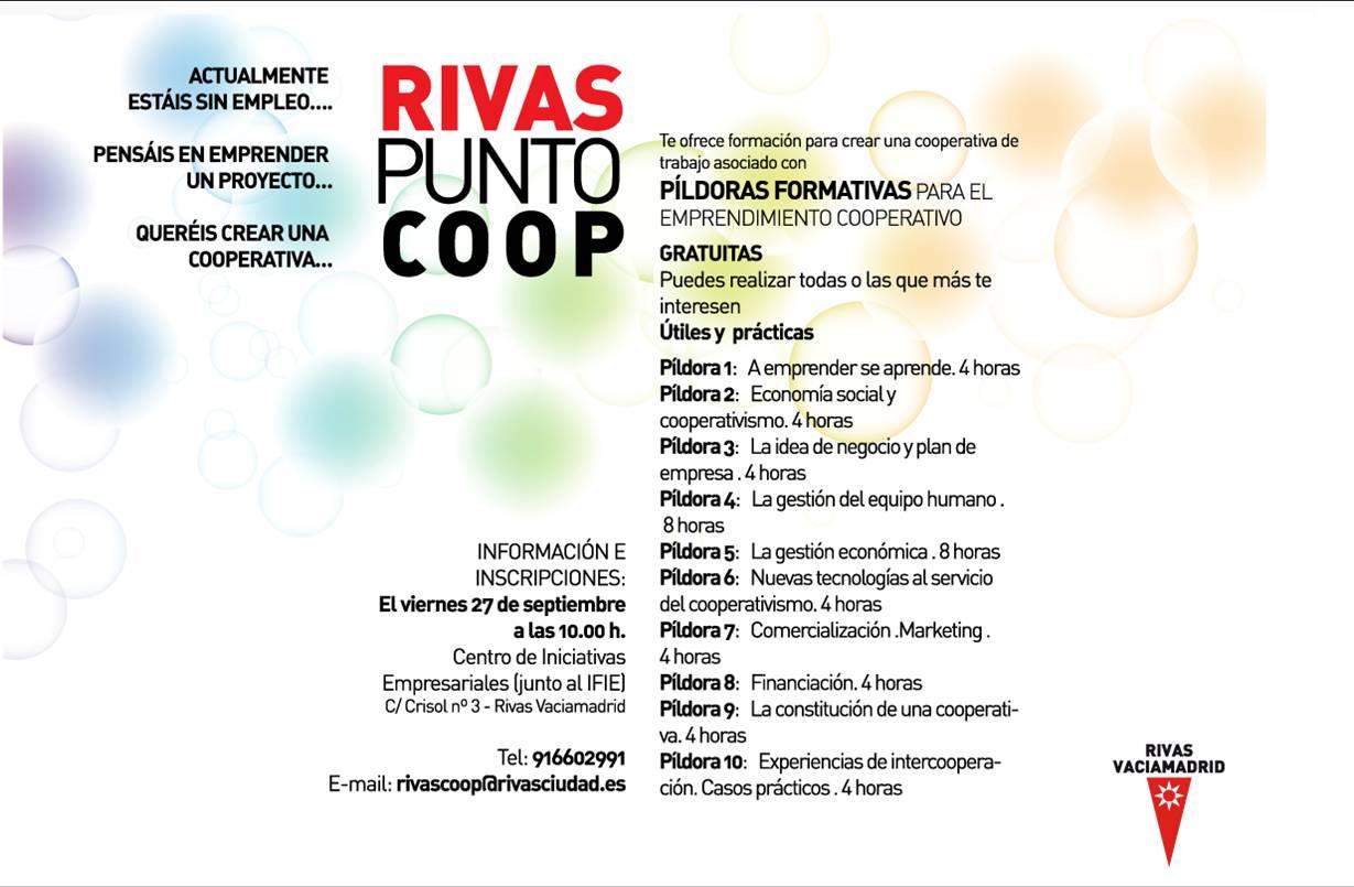Rivaspuntocoop asesoramiento y formaci n andaira for Oficina de correos rivas vaciamadrid
